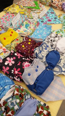 Nana's Nappies will be at the market on December 7th for those who are interested in stylish cloth diapers!