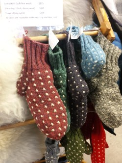 Lismore Sheep Farm has a variety of product for the man on your list. Check out these awesomely warm slippers for starters and there are sheepskin insoles and mittens and more! Find them at the market every Saturday and on December 7th!