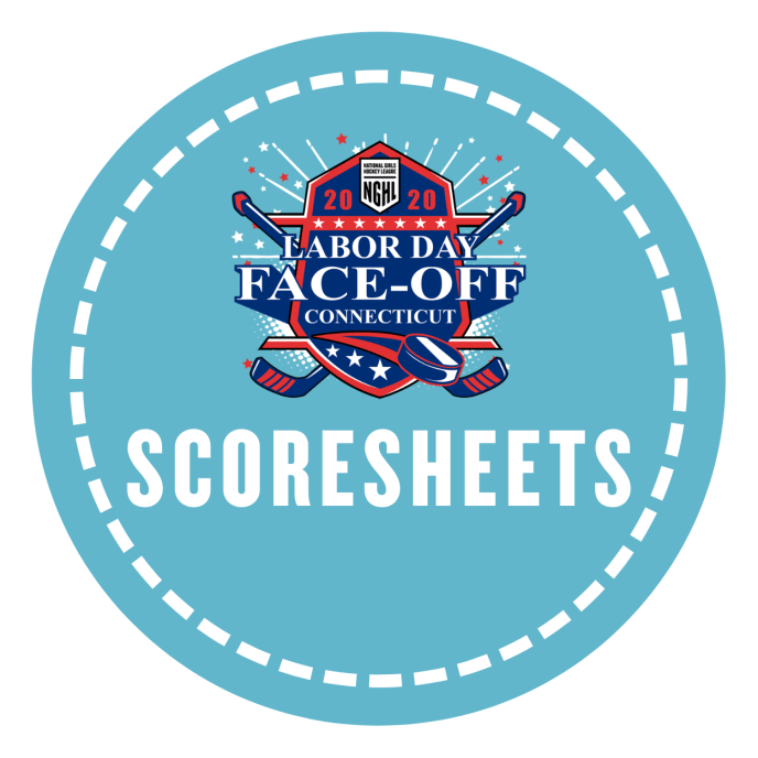 Face Off Scoresheets