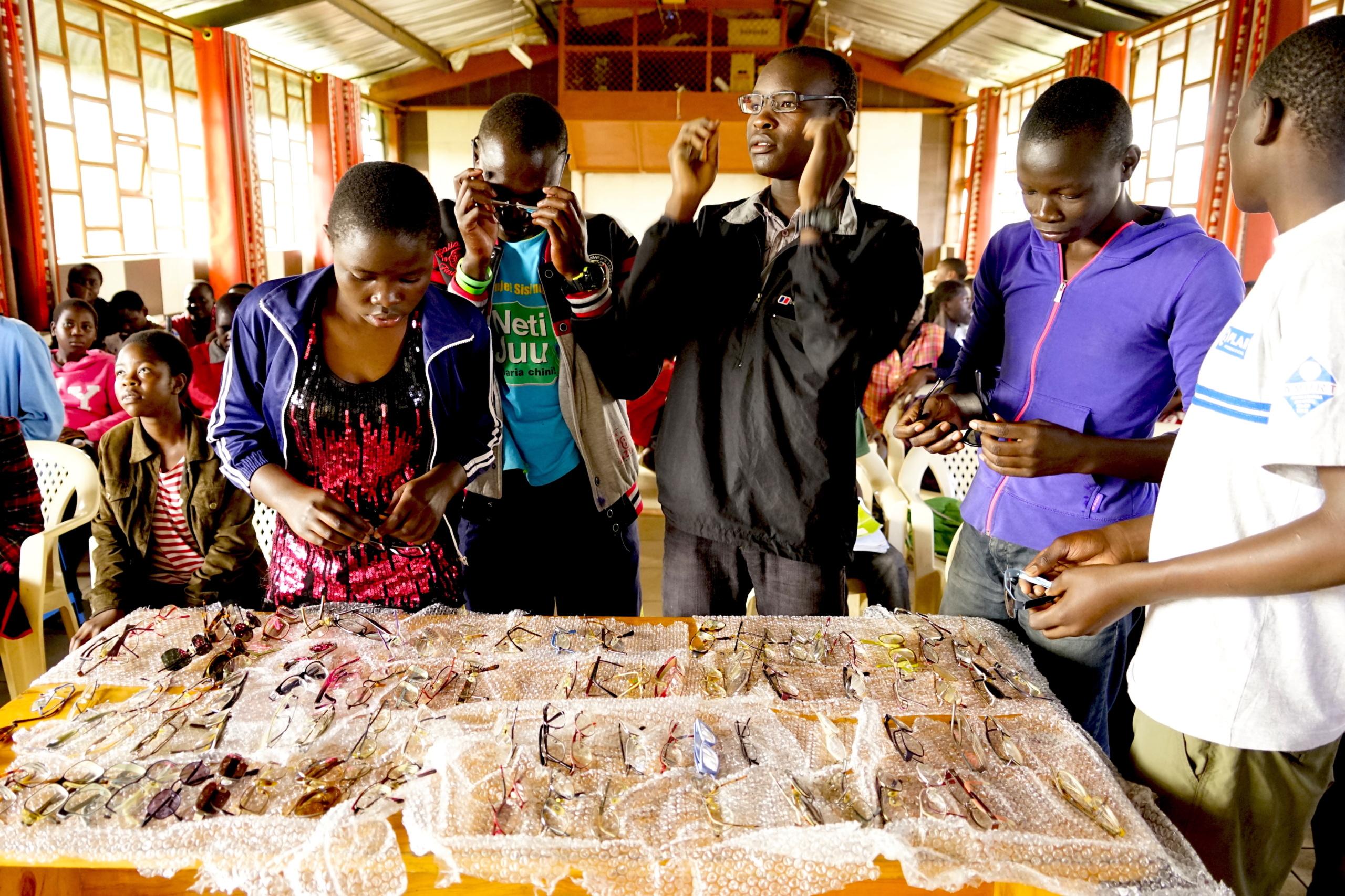 Kibera 2018: Briller og bog-regn