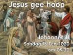 Joh 11: 25,26 JESUS GEE HOOP