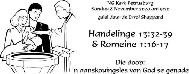 Hand 13:32-39 en Rom 1:16-17