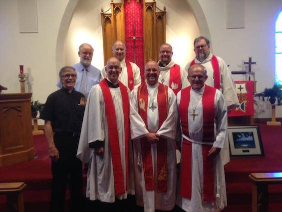 Installation of Pastor Mark Laatsch at Emmanuel, Menominee – June 28, 2015