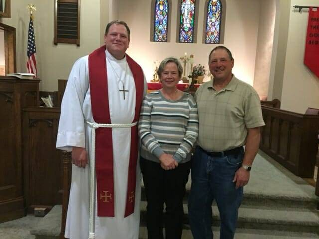 Installation of Pastor John Ansell – United Lutheran, L'anse – Sept. 19, 2016