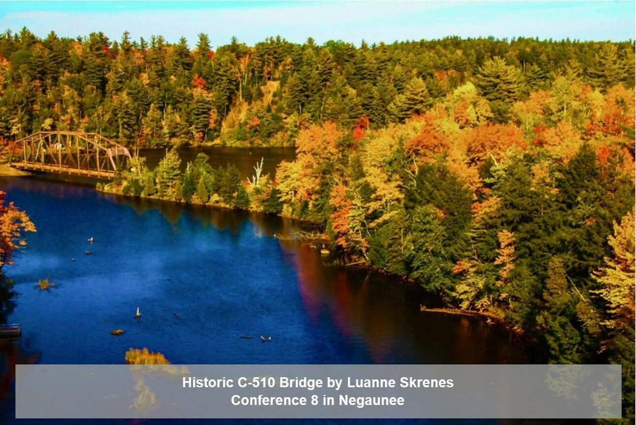 Historic C-510 Bridge By Luanne Skrenes