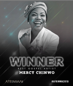 Mercy Chinwo Wins Afrimma Award for Best Gospel Artist