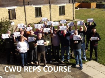 CWU reps course