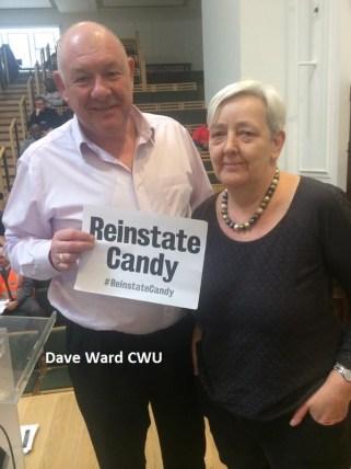 Dave Ward at packed reps meeting