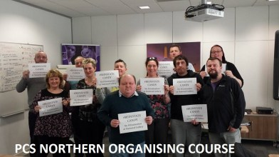 PCS northern organising course