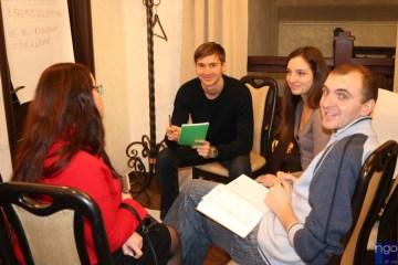 """Про взаєморозуміння та співпрацю у громаді спілкувалися під час """"відкритого простору"""" у Житомирі"""