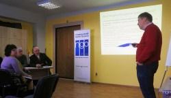 Як стати незалежним медіа в процесі роздержавлення з'ясовували керівники місцевих медіа в Житомирі