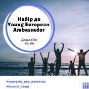 Набір до Young European Ambassador