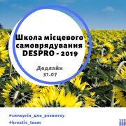 Школа місцевого самоврядування DESPRO – 2019