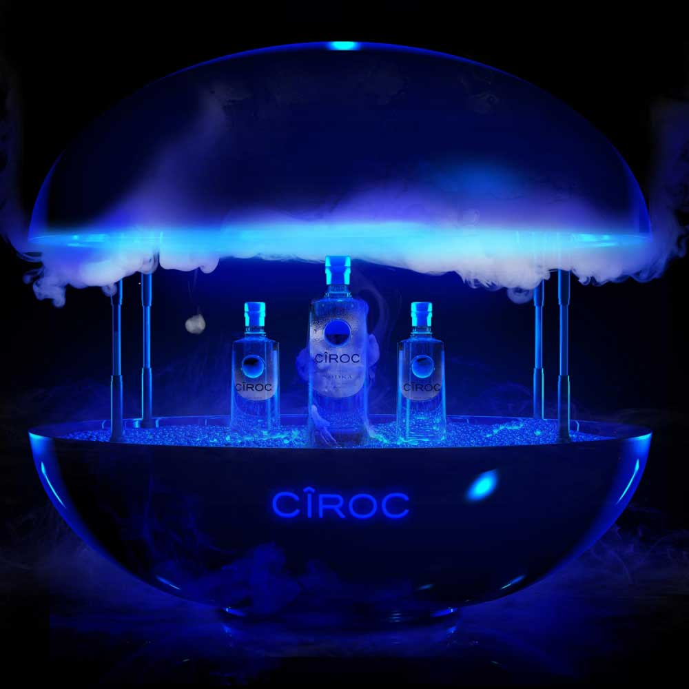 Bespoke product design, 3D, ciroc, diageo, Manchester 3D Artist Visualisation