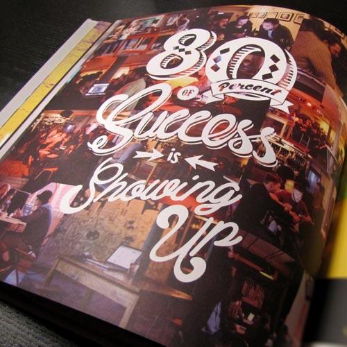 ngon art book three, bespoke branding, manchester