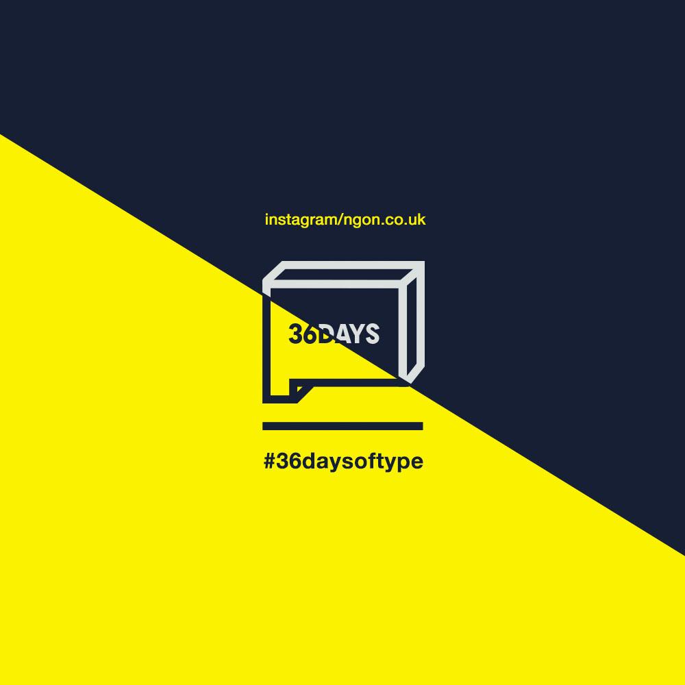 36 days of type, manchester agency, bespoke design, type, alphabet
