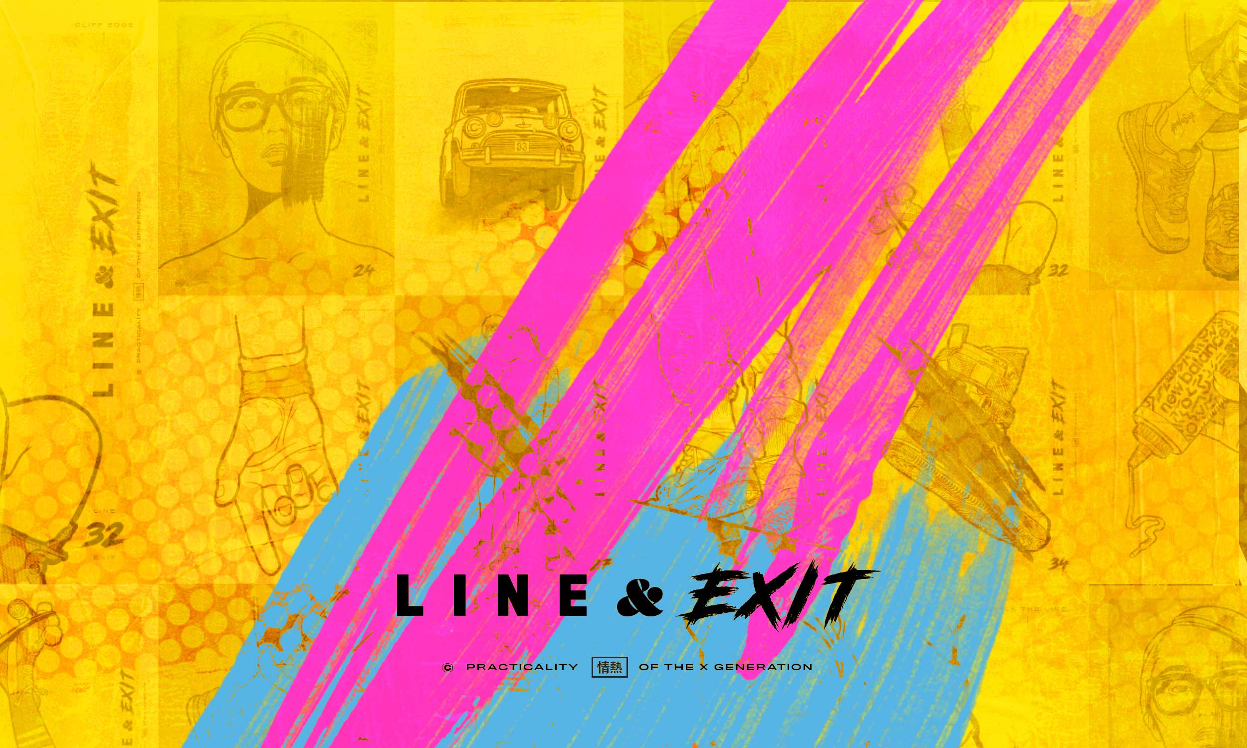 line and exit, Ngon, Manchester Agency, 3d artist