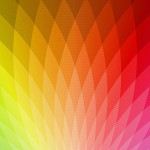 iPhone Wallpaper dengan Spectrum warna