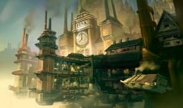 Bioshock Infinite: Finkton Dock by Benlo