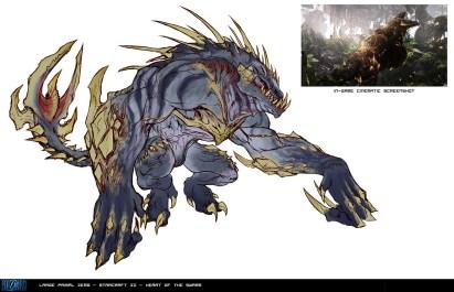 StarCraft II concept art