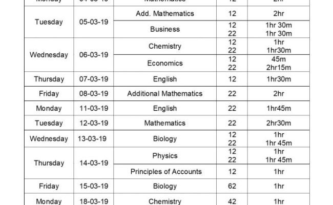 Exam Date Sheet Https Ngs Edu Pk