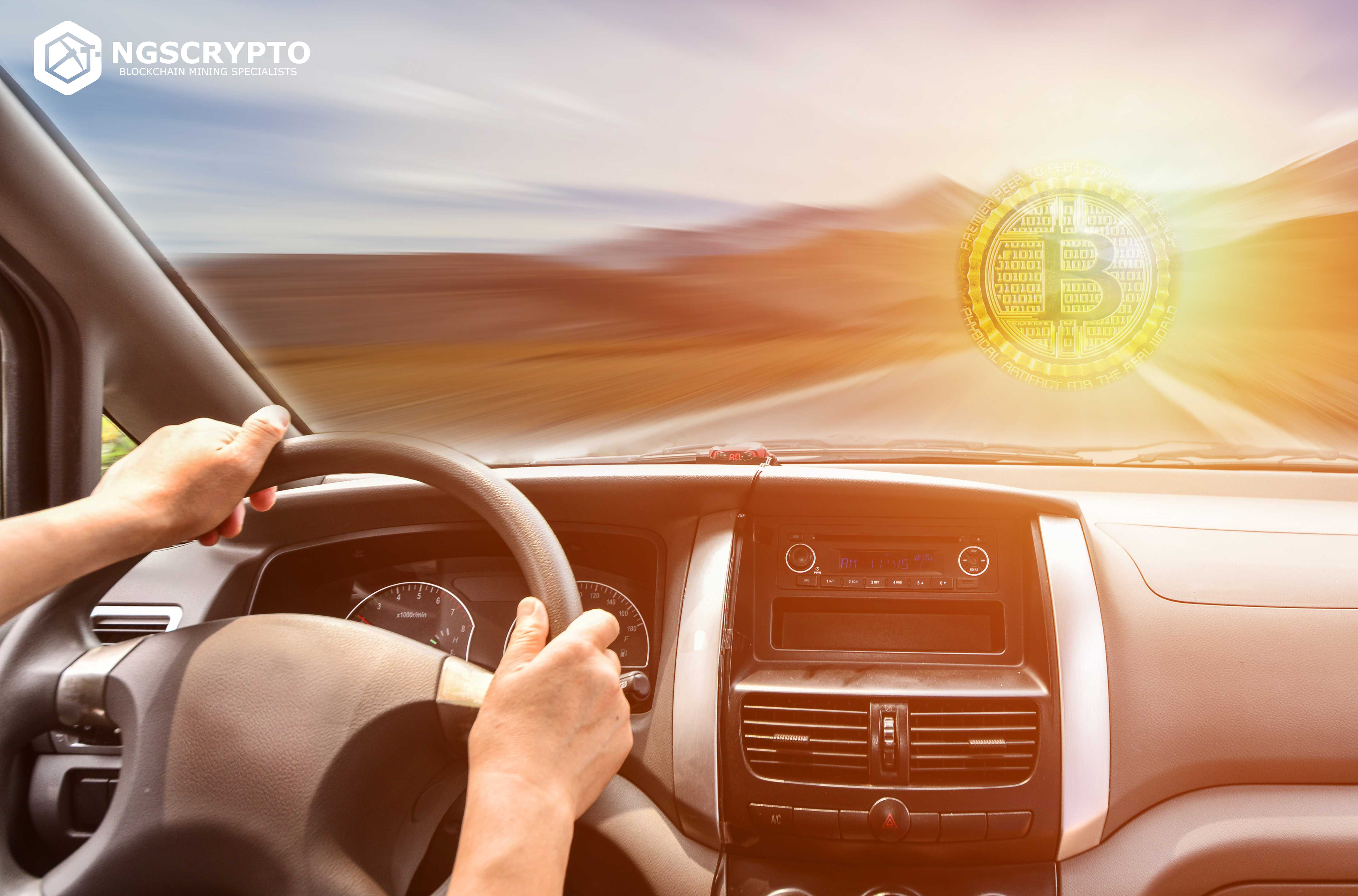 EARN CRYPTO WHILE YOU DRIVE