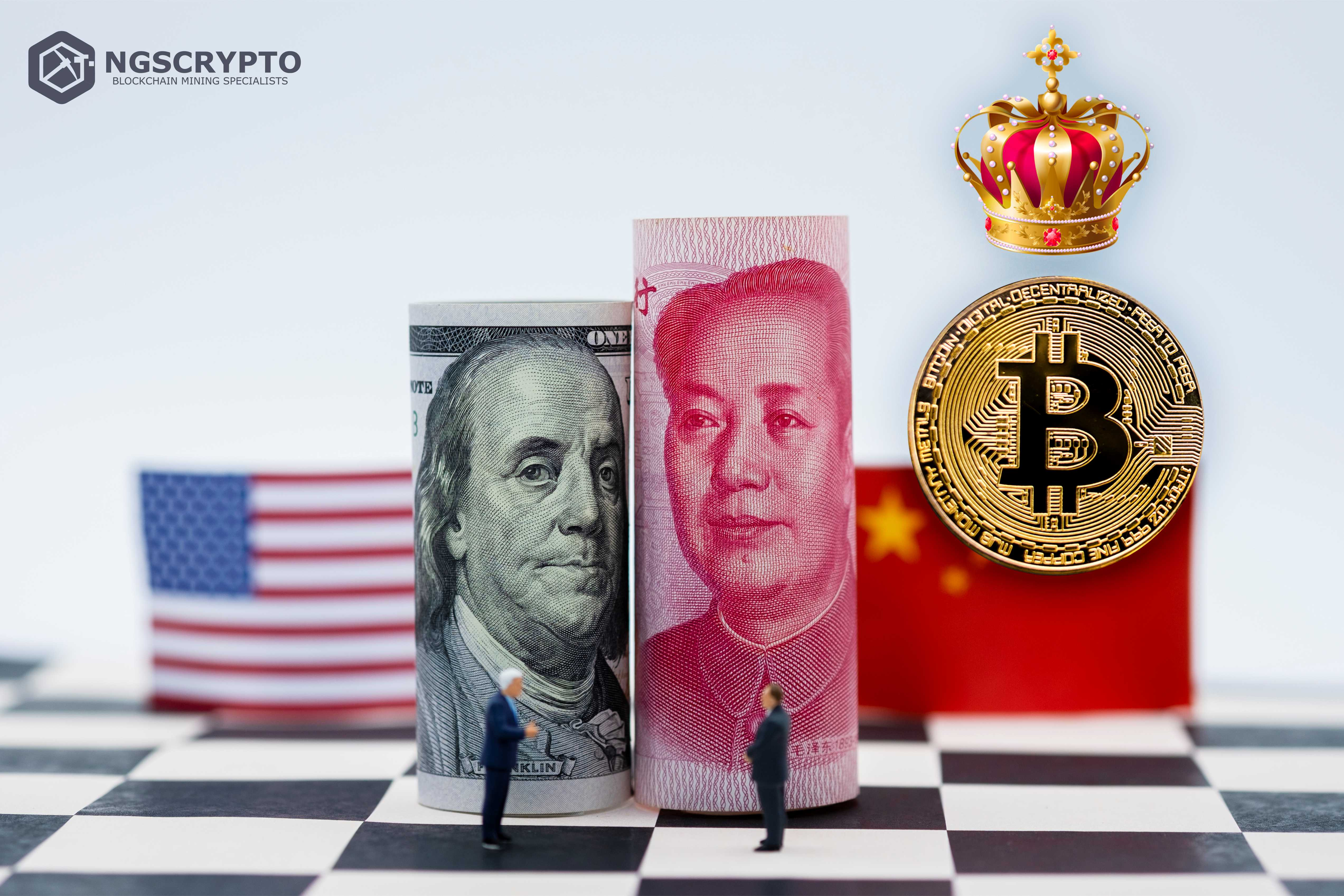 STOCKS DOWN YET BITCOIN SKYROCKETS AMIDST US-CHINA TRADE WAR