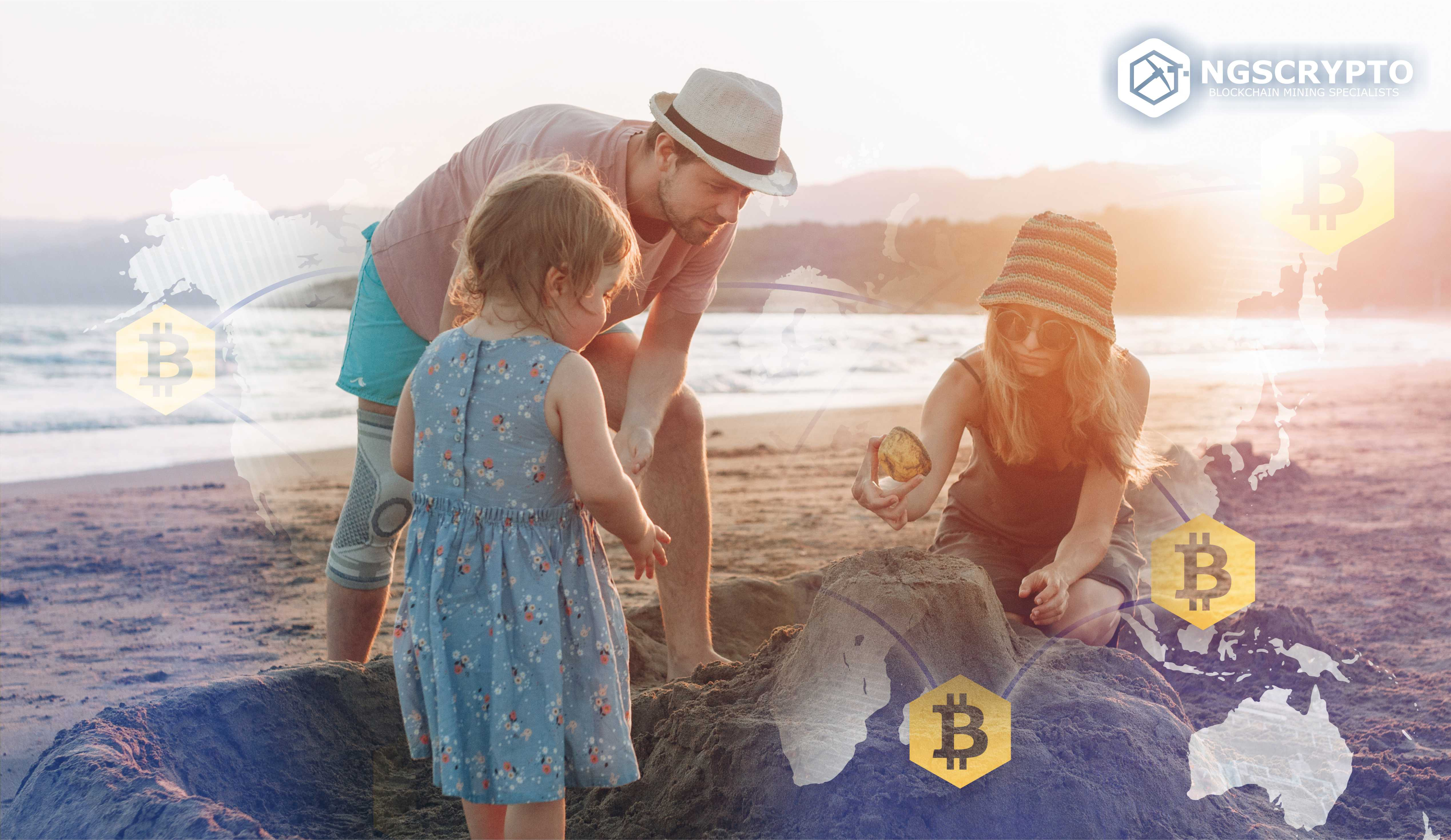 FAMILY OF 5 TRAVELLING THE WORLD COMPLETELY FUNDED BY BTC MINING