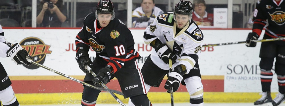 Dufour stays hot, Fuel snap Nailers points streak
