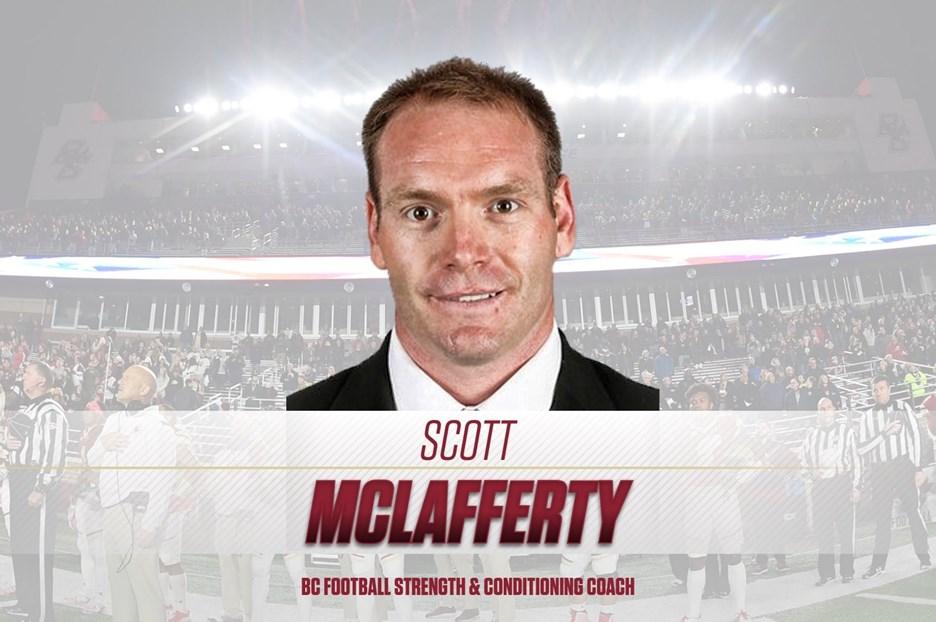 Scott McLafferty Named Head Football Strength & Conditioning Coach