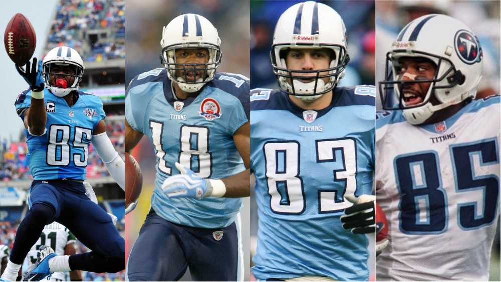 Go get wide-receivers for the Tennessee Titans