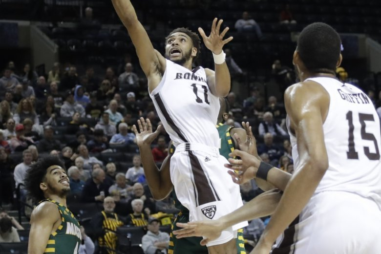 St. Bonaventure advances with 68-57 win over George Mason