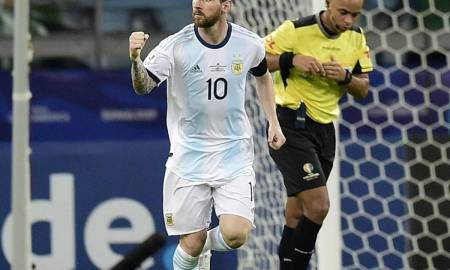 Leo Messi and Argentina advanced to the quarterfinals of the Copa America 2019 with a victory over Qatar