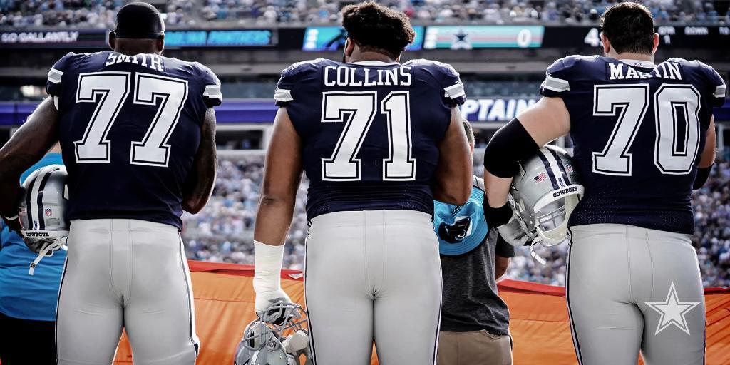 Dallas Cowboys: Offensive Line Nursing Injuries Prior to Season Opener