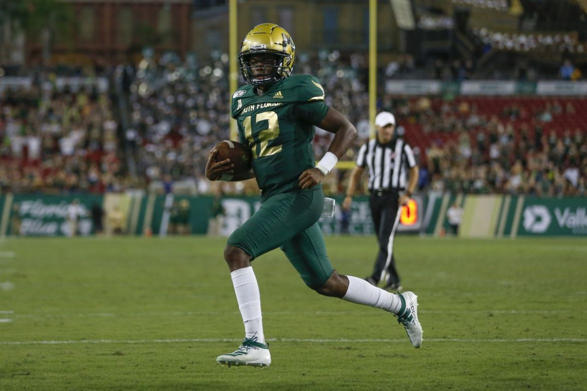USF Bulls Lose Another one to the SMU Mustangs 48-21