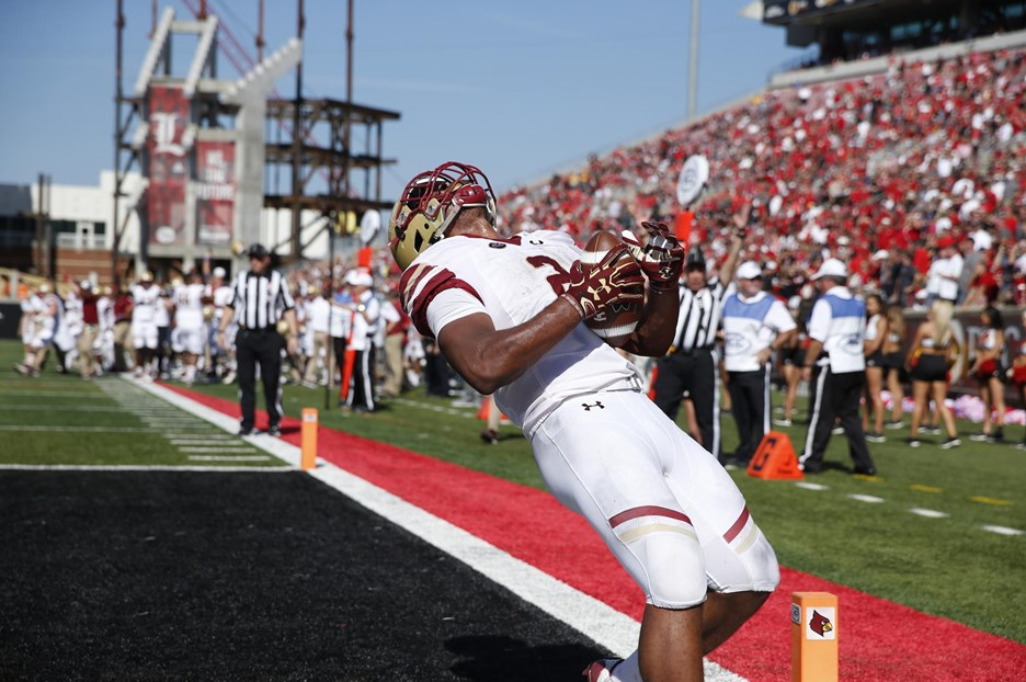 Louisville's Road Back Running Into BC