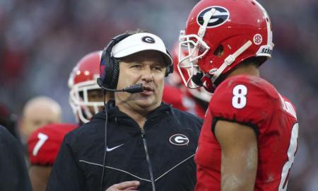 NCAA football: Gerogia head coach Kirby Smart