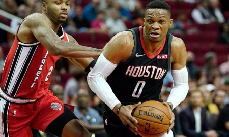 Rockets guard Russell Westbrook