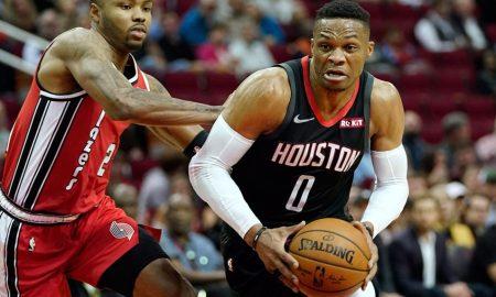 Rockets guard Russell Westbrook