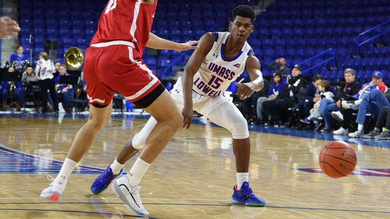 Boston University defeats UMass Lowell 74-62 behind 23 from Mahoney