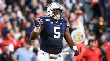 NFL Draft Prospect: Auburn Defensive Tackle Derrick Brown