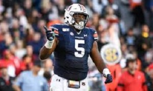 NFL Draft Prospect Derrick Brown