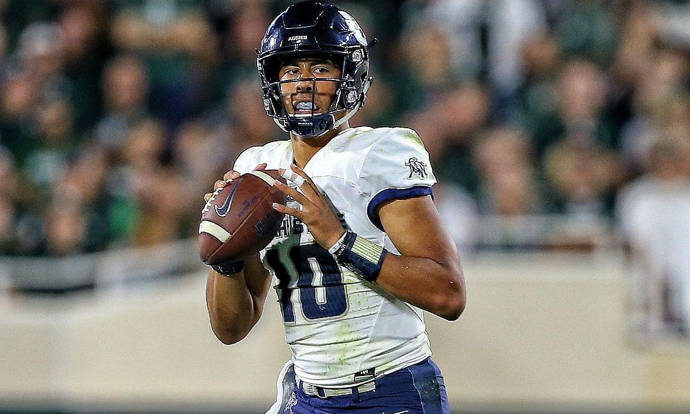 2020 NFL Draft Profile: Utah State QB Jordan Love Rising Up Big Board