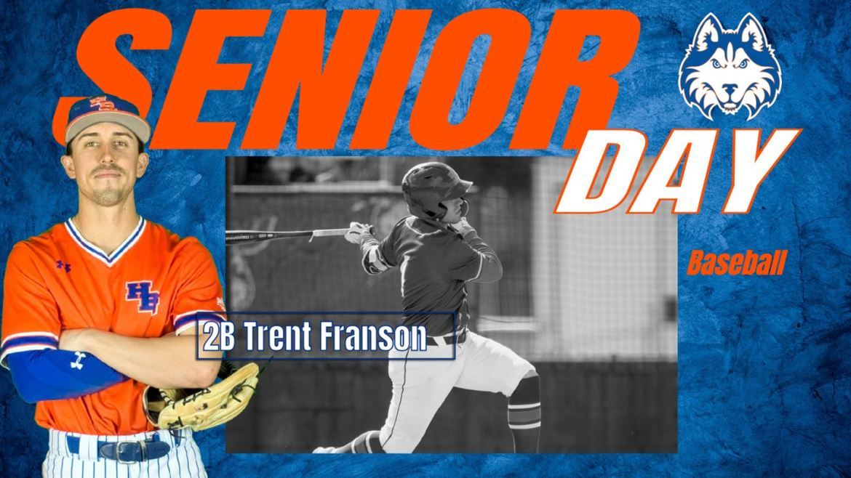 HBU Senior Day: Baseball's Trent Franson