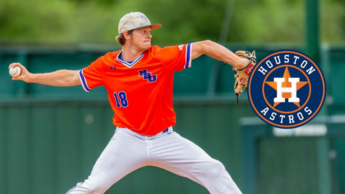 HBU Baseball: RHP Kyle Gruller Agrees to Terms With Astros
