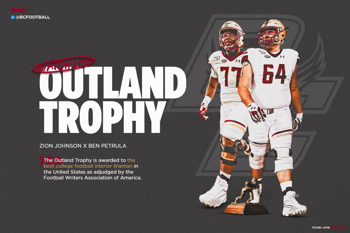 Johnson, Petrula Named to Outland Trophy Watch List
