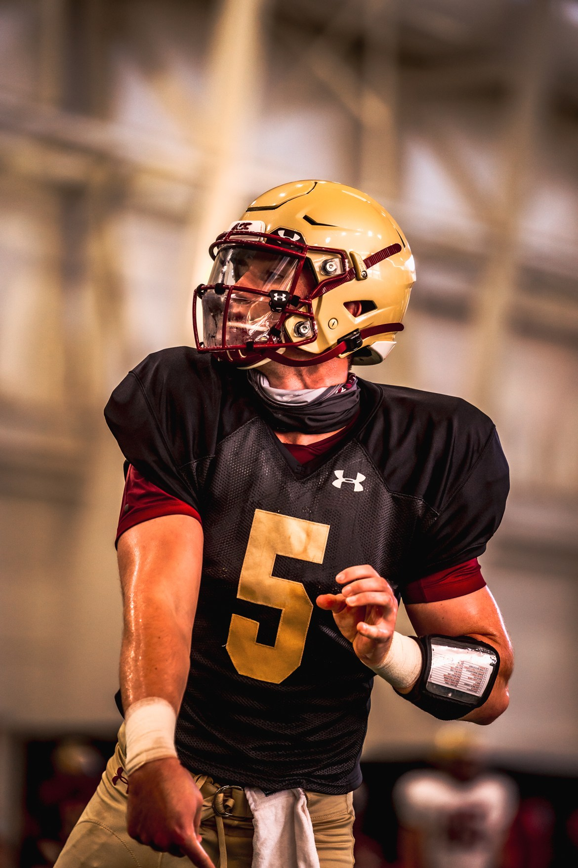 BC Football Preseason Blog #10: Full pads for Tuesday's practice