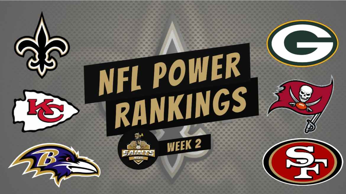 Power Ranking the Top 5 NFL Teams