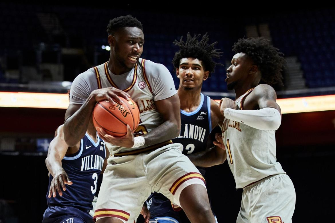 Boston College Eagles Fall Late to No. 3 Villanova at 2K Empire Classic