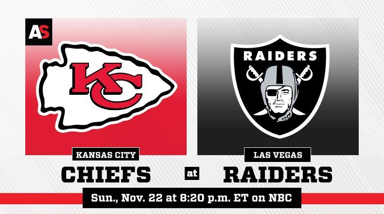NFL Week 11: Raiders vs. Chiefs Game of the Week
